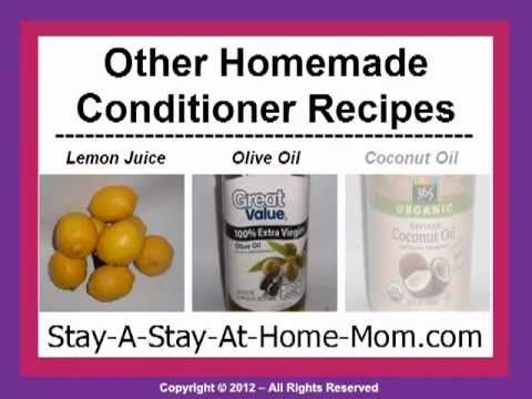 Homemade   Hair Conditioner Recipe